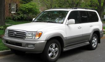 2003 Toyota Land Cruiser #1