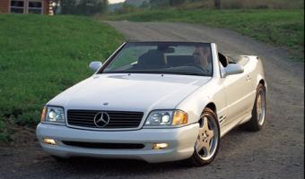 2001 Mercedes-Benz SL #1