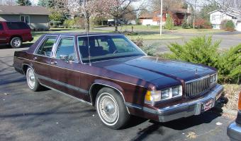 1991 Mercury Grand Marquis #1