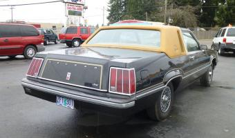 1980 Ford Cougar #1