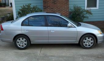 2002 Honda Civic #1