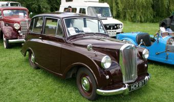 1950 Triumph Mayflower #1