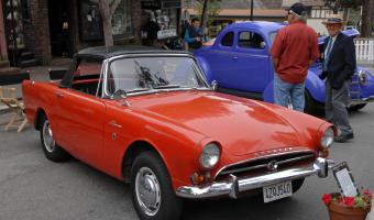 1965 Sunbeam Alpine #1
