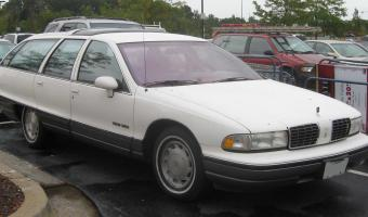 1992 Oldsmobile Custom Cruiser #1