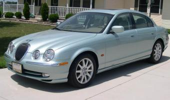 2001 Jaguar S-type #1