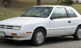 1992 Dodge Shadow #1