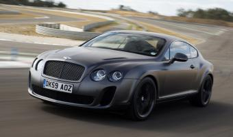 2010 Bentley Continental Supersports #1