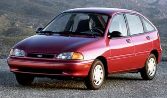 1995 Ford Aspire #1