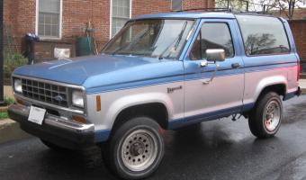 Ford Bronco Ii #1