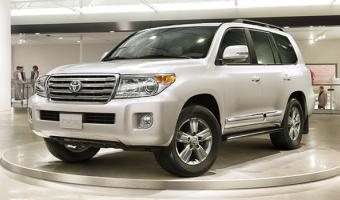 2015 Toyota Land Cruiser #1