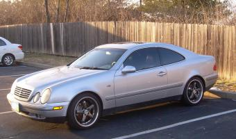 1998 Mercedes-Benz CLK #1