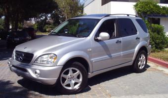 2000 Mercedes-Benz ML #1