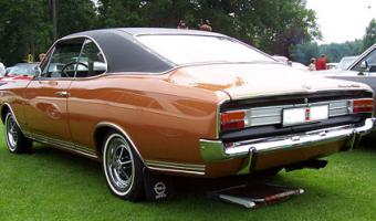 1971 Opel Commodore #1