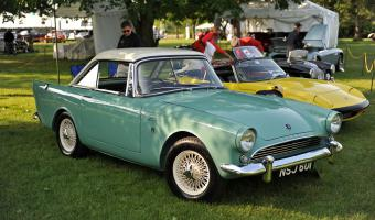 1963 Sunbeam Alpine #1