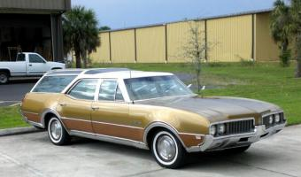 1969 Oldsmobile Vista Cruiser #1