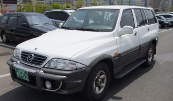 2002 Ssangyong Musso #1