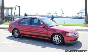 1995 Honda Civic #1
