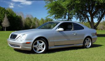 2001 Mercedes-Benz CLK #1