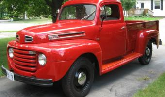 1950 Ford F #1
