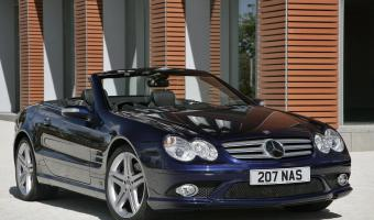 2007 Mercedes-Benz SL #1