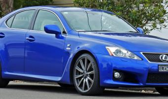 2010 Lexus Is F #1