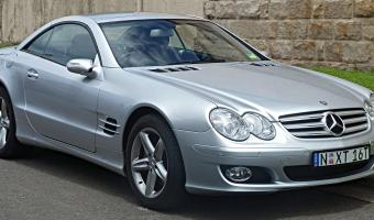 2008 Mercedes-Benz SL #1