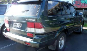1998 Ssangyong Musso #1