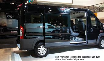 2015 Ram Promaster Window Van #1