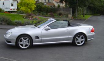 2002 Mercedes-Benz SL #1