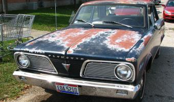 1966 Plymouth Valiant #1