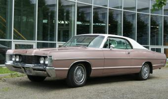 1968 Mercury Montclair #1