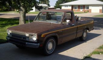 1985 Ford Courier #1