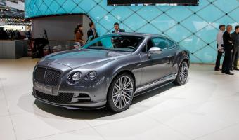 2015 Bentley Continental Gt #1