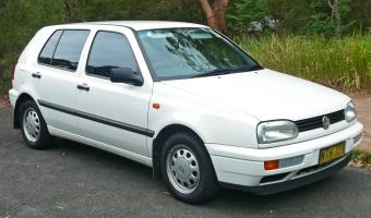 1996 Volkswagen Golf #1