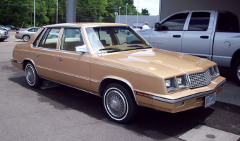 1983 Plymouth Caravelle #1