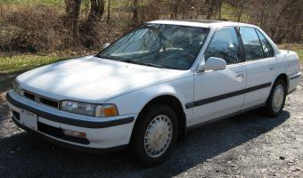 1991 Honda Accord #1