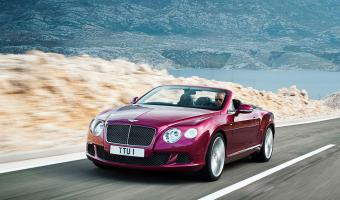 Bentley Continental Gt Speed Convertible #1