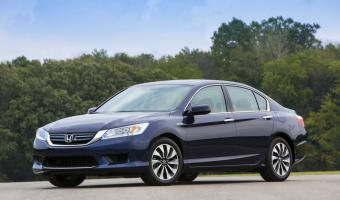 2014 Honda Accord Hybrid #1