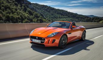 2014 Jaguar F-type #1