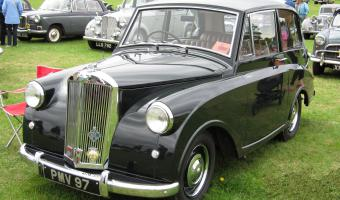 1952 Triumph Mayflower #1