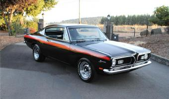 1969 Plymouth Barracuda #1