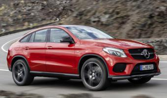 Mercedes-Benz Gle-class Coupe #1