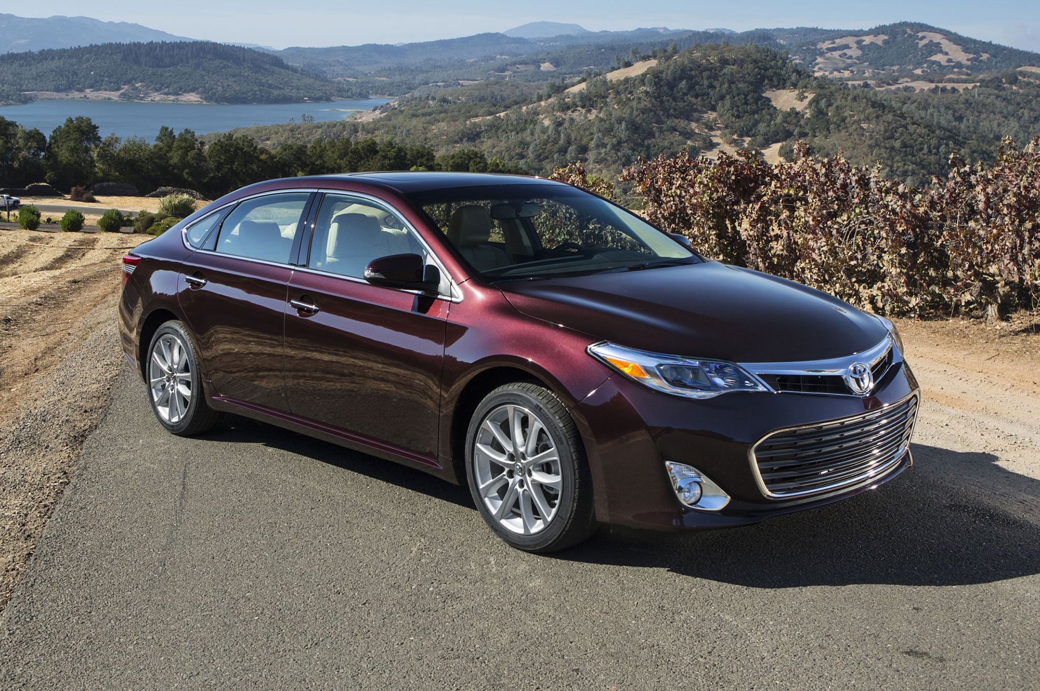 avalon toyota specs pictures information
