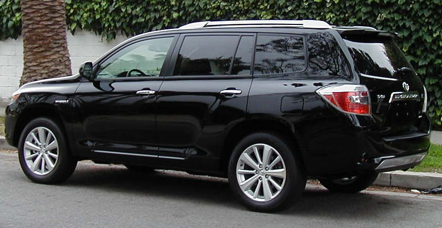 toyota highlander hybrid photos informations articles. Black Bedroom Furniture Sets. Home Design Ideas